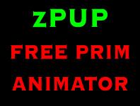 zPUP Prim Animator * Prim Animation * FREE EDITION *