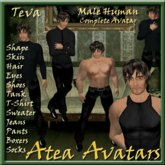Teva Human Male Avatar
