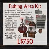 7Seas Fishing Game: Fishing Area Kit