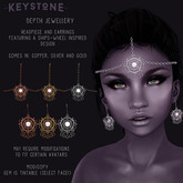 .Keystone. Depth Jewellery