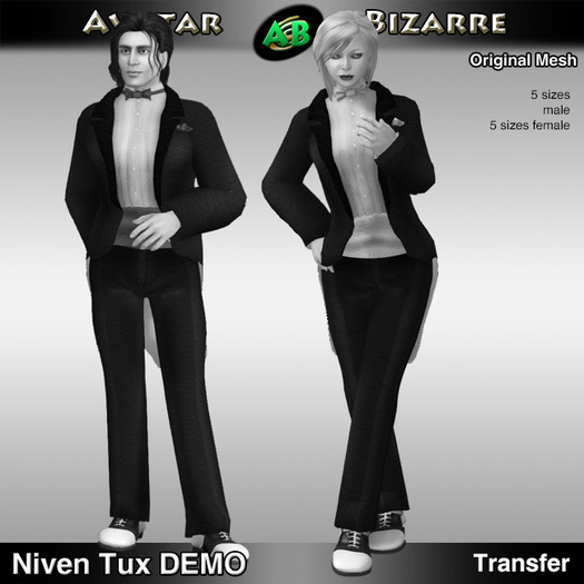 AB Niven Tux with Color HUD DEMO