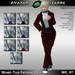 AB Niven Tux Red with Color HUD Female