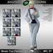 AB Niven Tux White with Color HUD Female