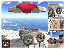Breeze Ice Cream Cart ♥ CHEZ MOI
