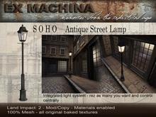 Ex Machina - Soho Street Lamp