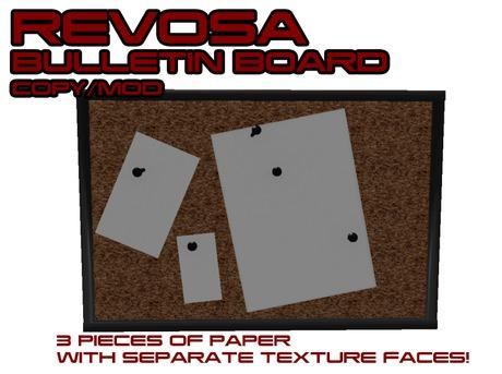 REVOSA Bulletin Board