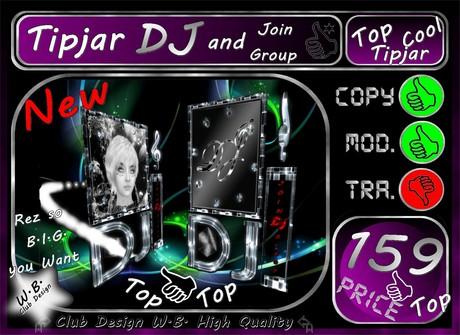 DJ Tip jar 5 >> New Tip jar DJ & Join Group <<