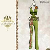 "Glam Dreams "" Primavera "" Chartreuse Jump Suit"