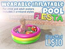 Wearable Inflatable Pool