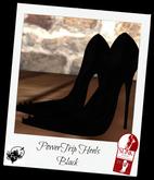 PowerTrip Heels Black