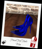 Power Trip Heels Blue