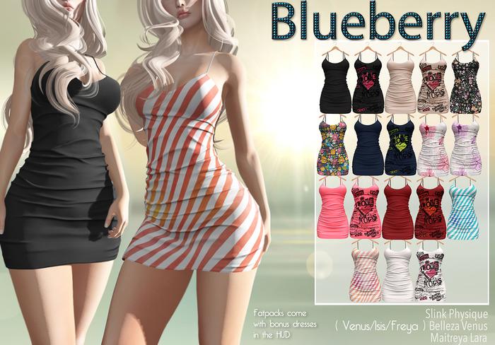 Blueberry - Rylai - Maitreya/Belleza/Slink - Fat Pack