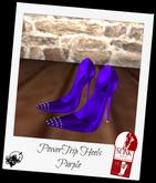 Power Trip Heels Purple