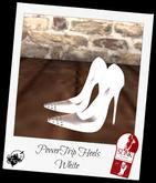PowerTrip Heels White