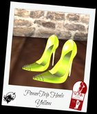 PowerTrip Heels Yellow