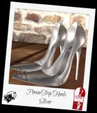 PowerTrip Silver Heels