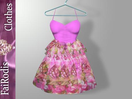 FaiRodis Transparent flower dress GROUP GIFT