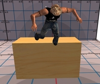 Stage dive animation ball - stagedive - Stagediving