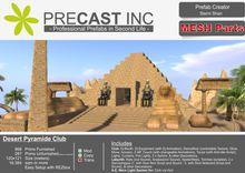 Desert Pyramide Club / MESH Parts