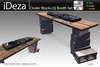 IDEZA - Cinder blocks Dj Booth Set BOXED