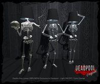 :DEADPOOL: DEATHS GRIP LAMPS SET OF 3
