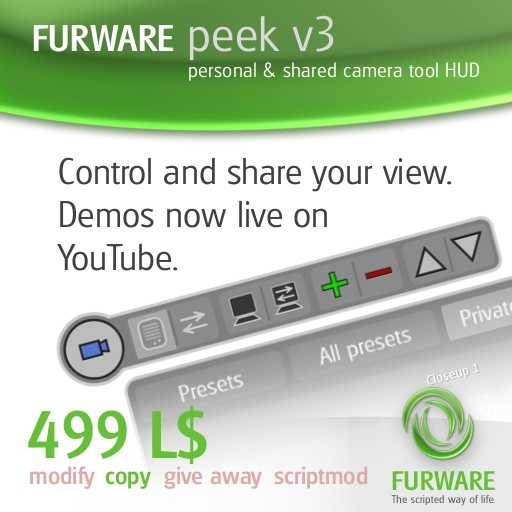 FURWARE peek - Store and share camera positions