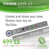 FURWARE peek - Store and share camera positions
