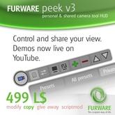 FURWARE peek - Kameraeinstellungen speichern und mit anderen teilen