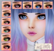 milk teeth. MAZE Eyes for M3 Venus Anime Head, M3 head, Kemono & Avatar 2.0 Head