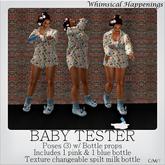 [Pose/Prop] - Bottle Tester Poses