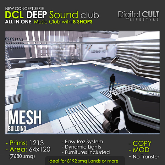 DCL DEEP Sound Club with 8 Shops