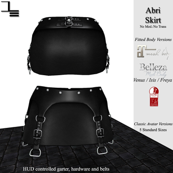 DE Designs - Abri Skirt - Black