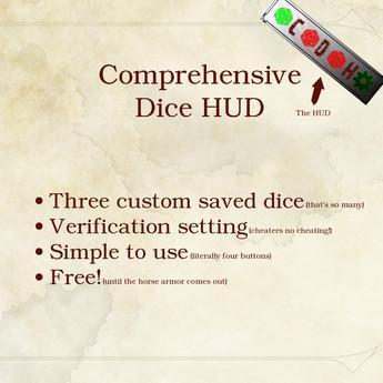 Comprehensive Dice HUD