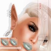 Oceane Fairytale Lips 3-pack Aqua [Classic]