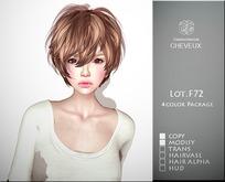 .:CHEVEUX:.F072 Hair Blacks