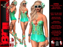 **EMMA SEA VERSION ALOHA STYLE COMPLET OUTFIT **