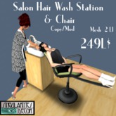 Animated Salon Hair Wash / Shampoo Station,  Copy Mod, 2 LI