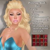 !SOUL - HAIR - Primrose - 12 Nuances -  Red Set 1