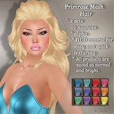 !SOUL - HAIR - Primrose - 12 Nuances -  Colors Set 2