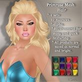 !SOUL - HAIR - Primrose - 12 Nuances -  Colors Set 1