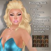 !SOUL - HAIR - Primrose - 12 Nuances -  Browns Set 1
