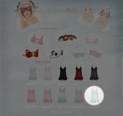 GACHA SPARES: Teefy - Aurora Nightdress -  Mint L