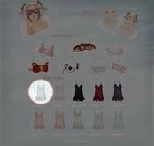 GACHA SPARES: Teefy - Aurora Nightdress -  Sky L