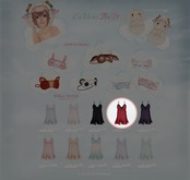 GACHA SPARES: Teefy - Aurora Nightdress -  Passion L