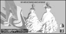 DEMO VHD White Lace Ballgown