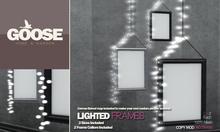 GOOSE - lighted frames 2 Collors included - 2LI / frame