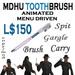 MDHU toothbrush box - animated