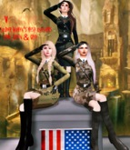"""Valkyries Soldiers women's uniforms mesh""""green,camo,grey pack"""""""