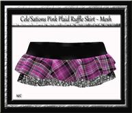 Cele'Sations Mini Skirt A MESH Pk
