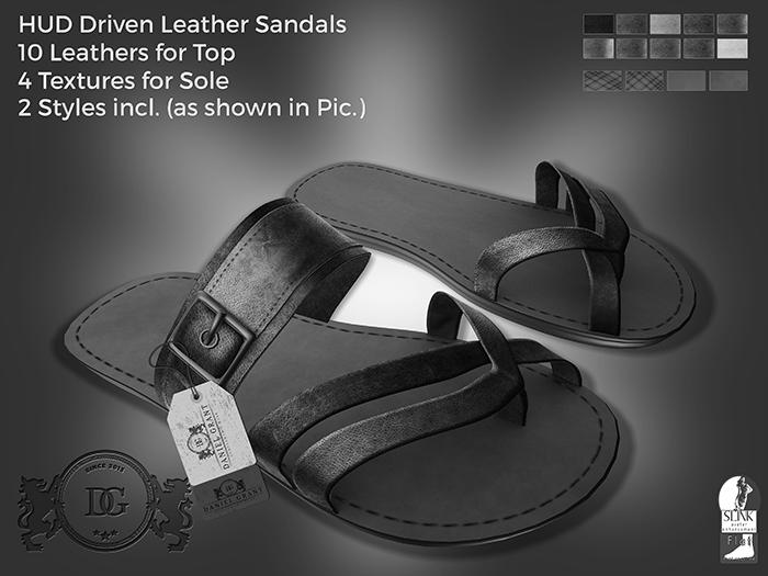 DEMO Daniel Grant- Aito Leather Sandals